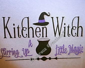 Kitchen Witch Cutting Board, Cutting Board, Witch, Kitchen