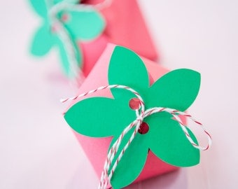 Strawberry Favor Boxes - 12ct