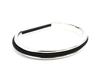 Hair Tie Bracelet - Silver