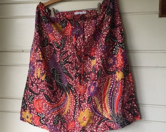 Vintage drawstring skirt