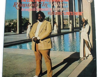 Barry White Love Unlimited Orchestra - Rhapsody In White 1974, Vinyl Record