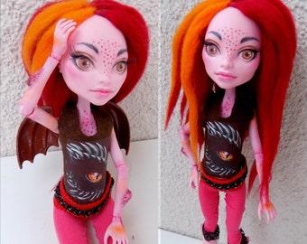 Reroot servicio - piel teme pelo / Monster high/siempre después de alta/Barbie muñeca ooak/personalizada
