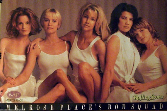 Melrose Place 23x35 Bod Squad Rolling Stone Cover Art Poster