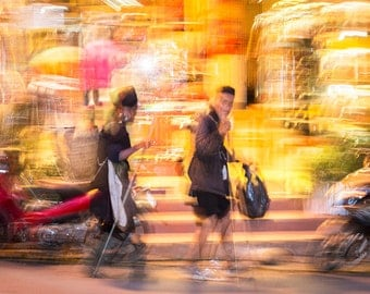 CLASH OF CULTURES. Vietnam Picture, Street photography, Sapa Print, Limited edition Print, Photographic print.
