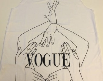 Vogue Hands Tank