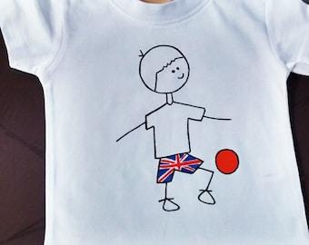 England footballer t shirt