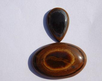59 Ct Tiger Eye Stone