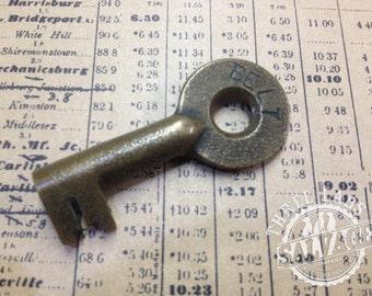 Brass Belt Railroad Key