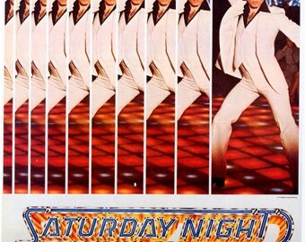Saturday Night Fever movie poster 11x17