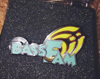 Bassnectar Hat Lapel Pin