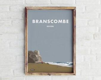 Branscombe Travel Print