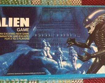 Vintage Alien Board Game - Kenner(1979)
