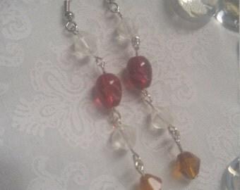 Sworovski Dangle Earrings