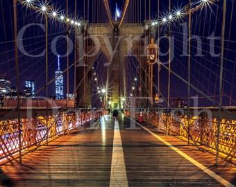 Brooklyn Bridge - Metal Print