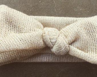 Warm sparkle bow (Stretchy)