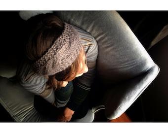 Cable Headband Wool