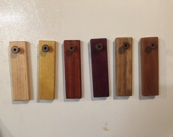 Handheld Magnetic Wooden Bottle Opener