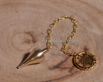 Gold metal pendulum-luxury style