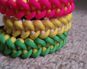 Piranha Paracord Bracelet