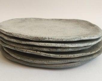 Stoneware Side / Appetizer Plates