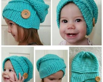 Crochet Twisted Turban Slouchy Hat, crochet slouchy hat, crochet twisted slouchy hat, crochet turban slouchy hat, women's hats, winter hats