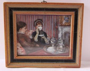 Mary Cassatt Tea print, Mary Cassatt, Tea party wall art,