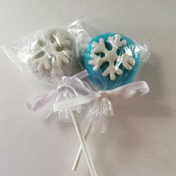 12 Frozen / Winter Wonderland / Onederland Oreo Cookie Pops