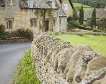 photo digital download Snowshill, Cotswold village 24x16in