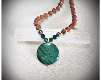 Dusk Till Dawn Mala Necklace Collection - 'Spiritual Adventuress' Crystal Mala Necklace