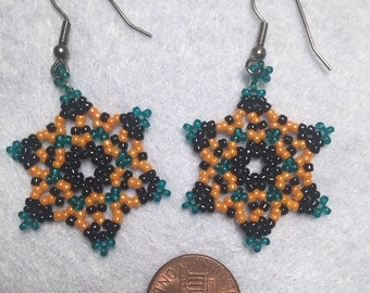 Witch's Hat Star Earrings
