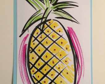 Pineapple- Touchable