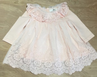 Baby girl dress, age 12-18 months
