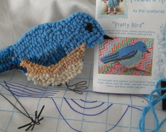 Instruction Kit for a Hooked Pretty Bird
