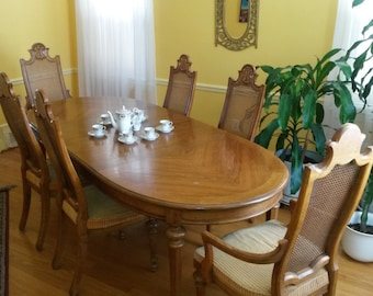 Classic Dining Table and Chairs