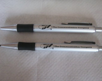 Writing set 2 piece set, high quality, in Metalschachtel (MCC) ca. 1980 almost as good as new