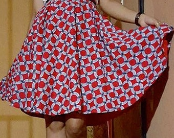 Ankara Women's Flare skirt