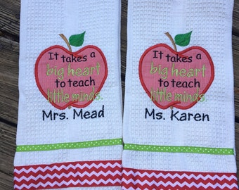 Teacher dish towel