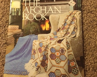 The afghan pattern book by leisure arts
