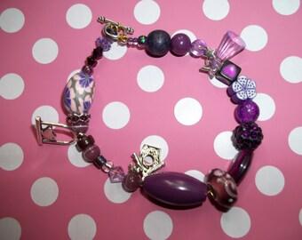 sweet purple bracelet