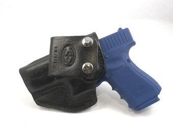 G19/ G23 IWB - Handcrafted Leather Pistol Holster