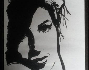Amy Winehouse Black/White