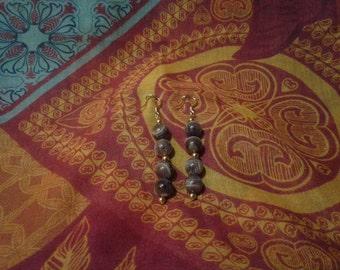 gold plated beauty earrings
