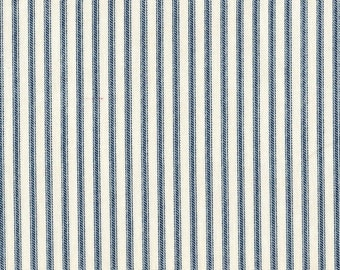 Euro Sham, Tailored, Nautical Blue Ticking Stripe