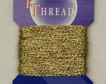 Fine SP Gold Thread - 10m - Metallic / Viscose