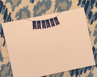 """Banner """"Clare"""" Note Card with Full Color Back"""