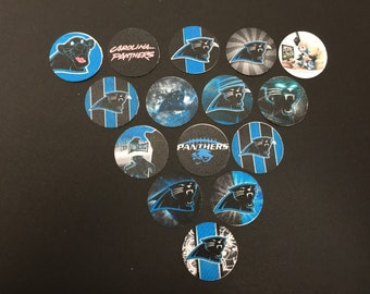 Carolina Panthers Buttons set a 15