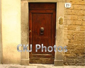 Door 19 - Florence, Italy