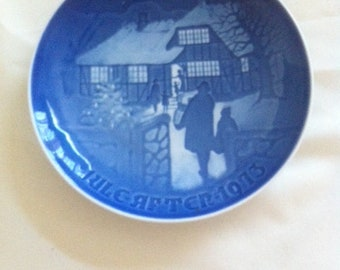 1973 B&G Bing and Grondahl - Country Christmas - Collector Plate
