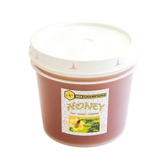 1 Gallon Bucket Of Raw Natural Unfiltered Honey