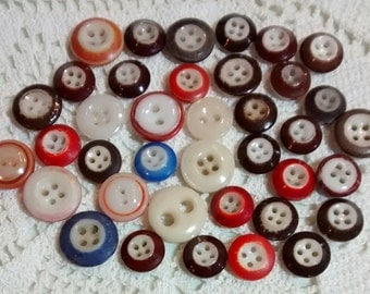 Vintage China Buttons